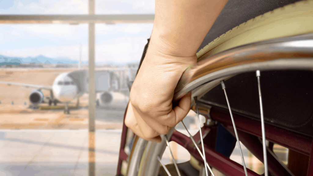 Can I Take My Wheelchair on a Plane?