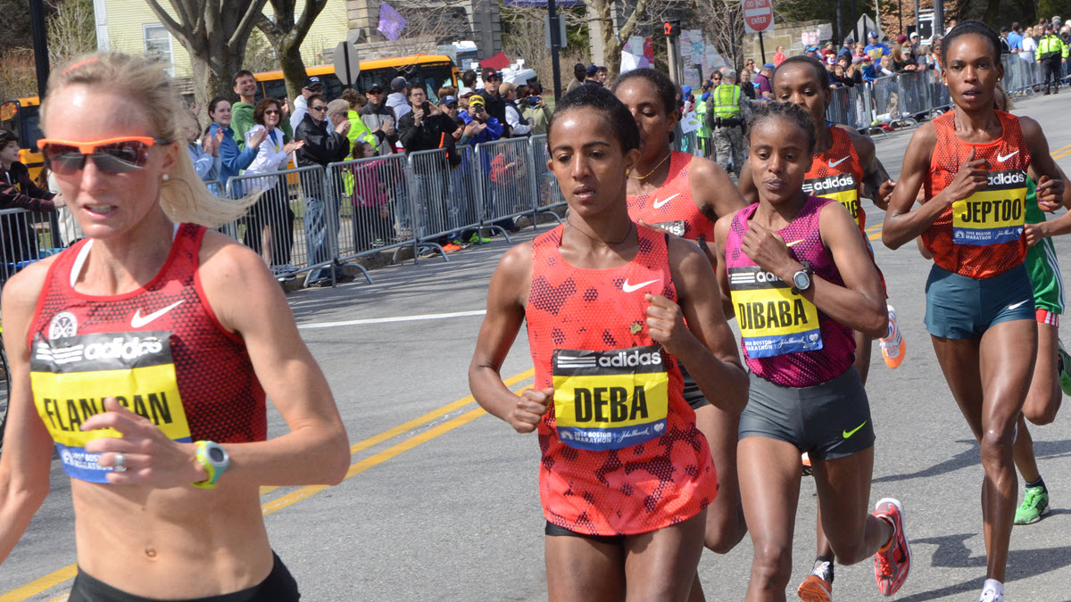 Women run Boston marathon - thanks to pioneer Kathrine Switzer