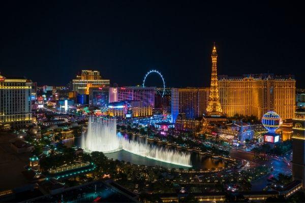 Las Vegas USA nighttime